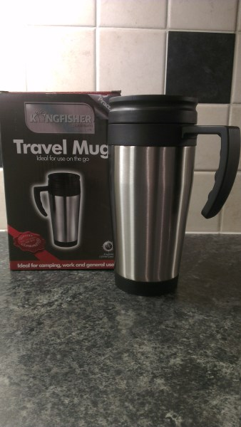 Personalised Stainless Steel Insulated Travel Mug